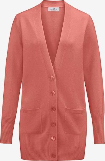 Peter Hahn Strickjacke Premium-Kaschmir in apricot / lachs / hellorange / pink / rosa, Produktansicht