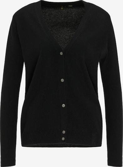 DreiMaster Klassik Gebreid vest in de kleur Zwart, Productweergave