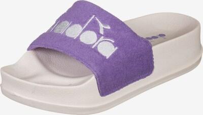 Diadora Badeschuhe ' Serifos Sponge W ' in lila, Produktansicht