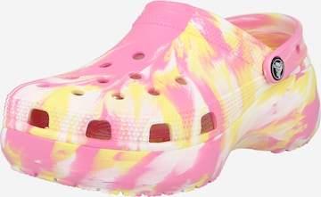 Crocs Classic Flats 'Marbled' in Pink