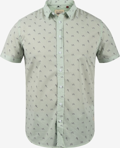 BLEND Kurzarmhemd in grün, Produktansicht