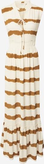 Cream Рокля тип риза в злато / бяло, Преглед на продукта