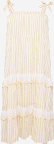Cotton On Curve - Vestido de verano 'CLARISSA' en amarillo