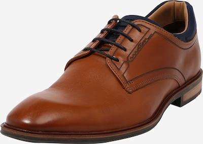 LLOYD Cipele na vezanje 'MANUEL' u mornarsko plava / konjak, Pregled proizvoda
