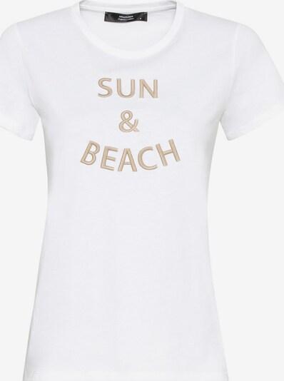 HALLHUBER T-Shirt aus Bio-Baumwolle mit Stickerei in weiß, Produktansicht