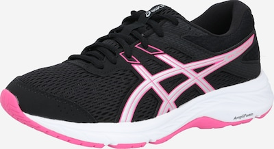 ASICS Laufschuh 'Gel-Contend 6' in pink / schwarz / weiß, Produktansicht