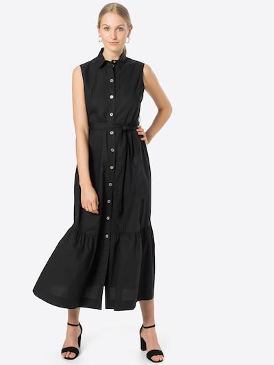 Rochie tip bluză 'SFRONTATO' PINKO pe negru, Vizualizare model