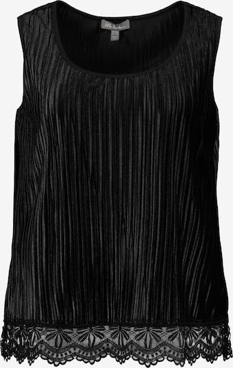 Ulla Popken Top in schwarz, Produktansicht