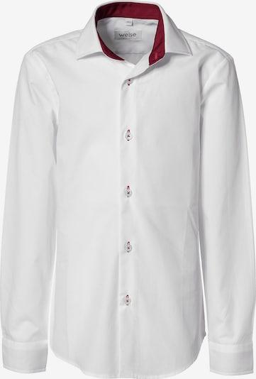 WEISE Hemd in rot / weiß, Produktansicht