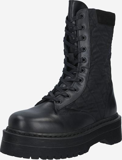Y.A.S Bottes à lacets en noir, Vue avec produit
