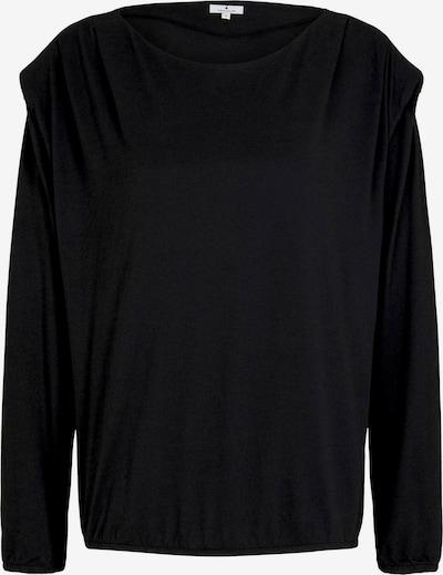 TOM TAILOR Shirt in schwarz, Produktansicht