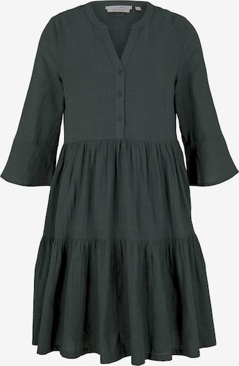 TOM TAILOR DENIM Kleid in dunkelgrün, Produktansicht