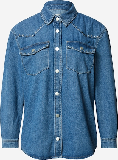 ONLY Blouse in Blue denim, Item view