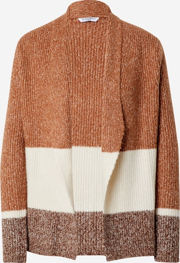 ZABAIONE Knit cardigan 'Mel' in Beige / Brown, Item view