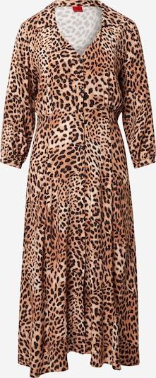 HUGO Shirt Dress 'Eoletta' in Light brown / Black, Item view