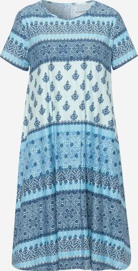 Green Cotton Sommerkleid in blau, Produktansicht