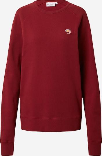 Hafendieb Sweatshirt in de kleur Wijnrood, Productweergave