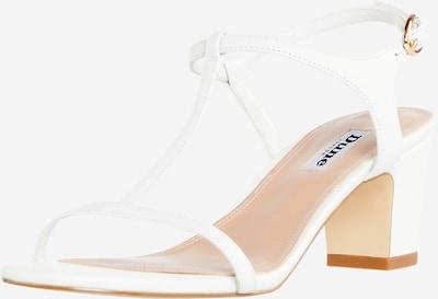 Sandalo con cinturino 'JAYCY' Dune LONDON di colore bianco, Visualizzazione prodotti