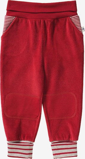 Leela COTTON Hose in rot: Frontalansicht