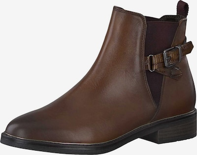 MARCO TOZZI Chelsea Boots in braun: Frontalansicht