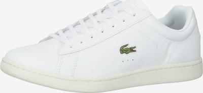 LACOSTE Baskets basses 'Carnaby Evo' en vert / rouge / blanc, Vue avec produit