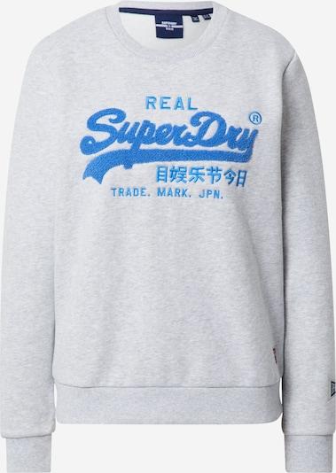 Superdry Sweatshirt 'VL CHENILLE CREW' in de kleur Grijs, Productweergave