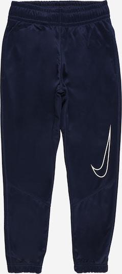 Sportinės kelnės iš NIKE , spalva - tamsiai mėlyna / balta, Prekių apžvalga
