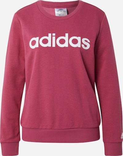 ADIDAS PERFORMANCE Sportska sweater majica u bordo / bijela, Pregled proizvoda