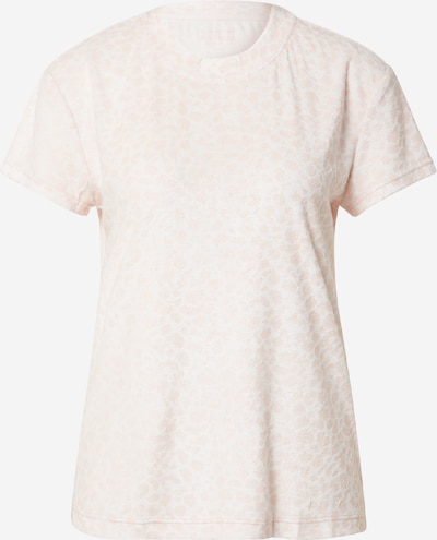 SCHIESSER Pidžamas krekls rožkrāsas / balts, Preces skats