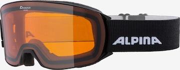 Alpina Skibrille  'Nakiska' in Schwarz