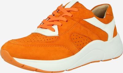 CAPRICE Sneakers low 'CAPRICE' in Dark orange / Nature white, Item view