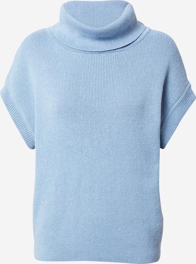 NU-IN Gebreide bodywarmer in de kleur Lichtblauw, Productweergave