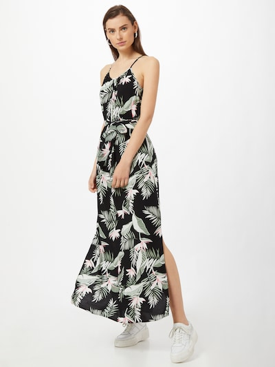 VERO MODA Robe 'Simply' en mélange de couleurs / noir, Vue avec modèle