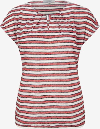 Tricou Ci comma casual identity pe roșu / alb, Vizualizare produs