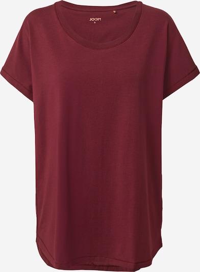 JOOP! Bodywear Chemise de nuit en lie de vin, Vue avec produit