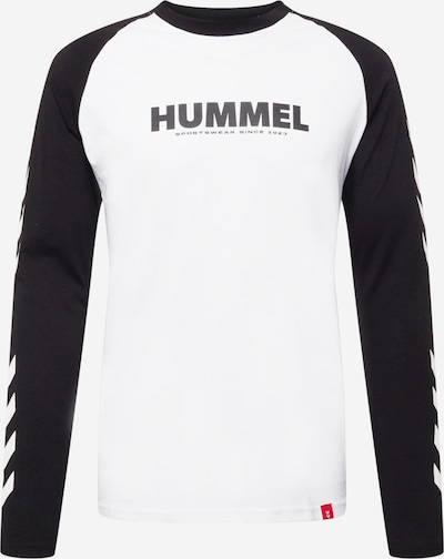 Hummel Sportshirt in schwarz / weiß, Produktansicht