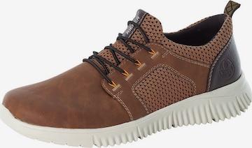RIEKER Sneaker in Braun