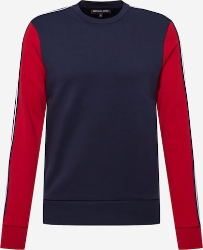 Michael Kors Sweatshirt i natblå / blodrød / hvid, Produktvisning
