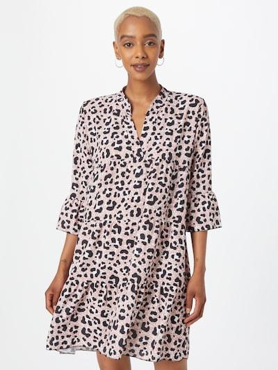 Hailys Košilové šaty 'Lola' - starorůžová / černá / bílá, Model/ka