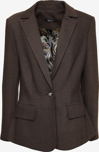 Madam-T Blazer Jacke 'MANA' in braun, Produktansicht