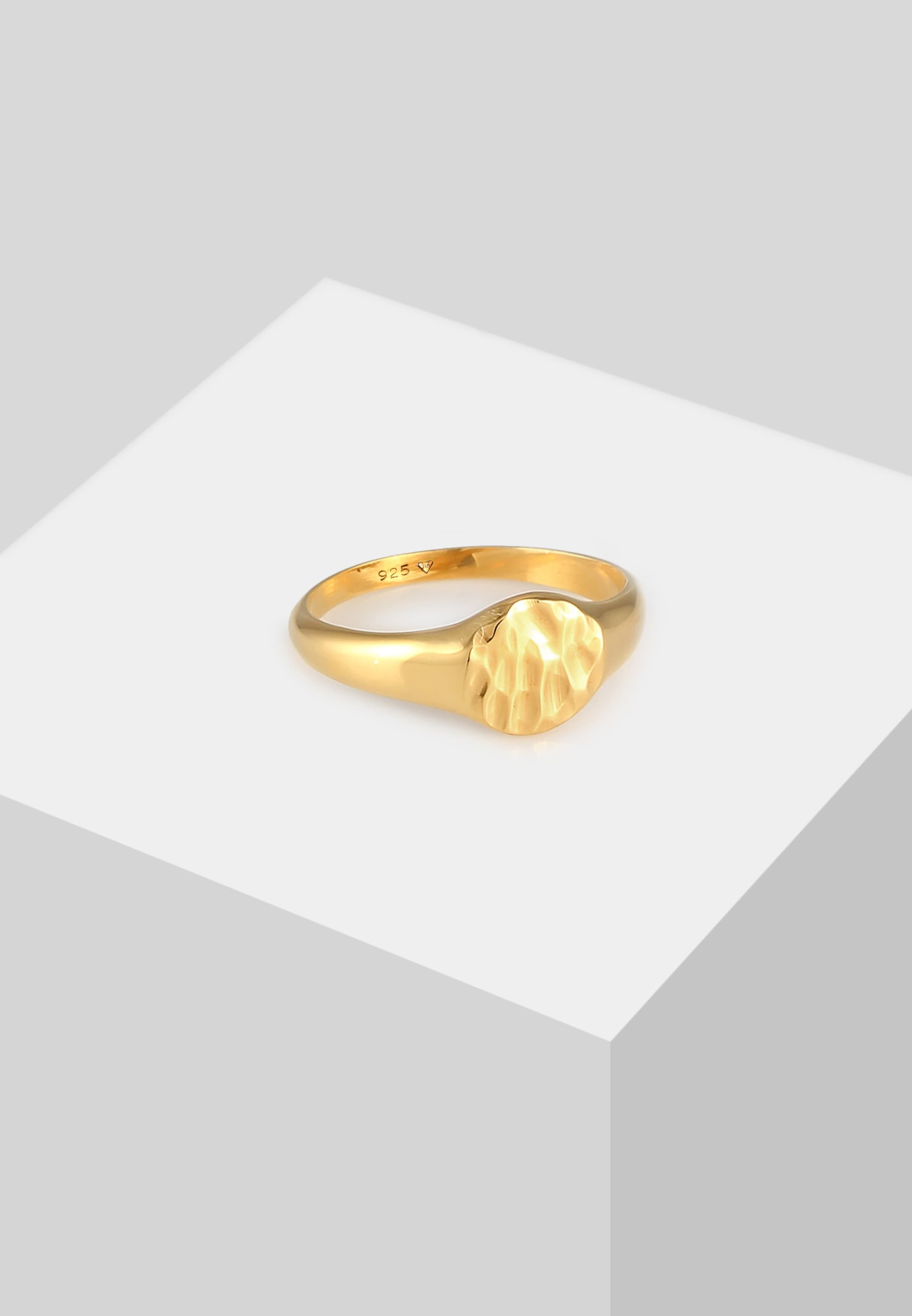 ELLI Ring Siegelring in gold