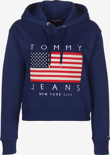 Tommy Jeans Hoodie ' US Flag ' in blau, Produktansicht
