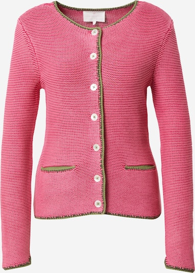 LIEBLINGSSTÜCK Knitted costume cardigan in Green / Pink, Item view