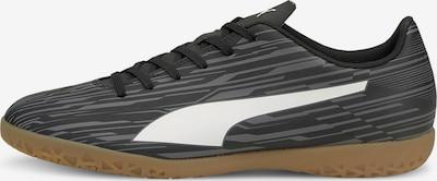 PUMA Fußballschuh in grau / schwarz / weiß, Produktansicht