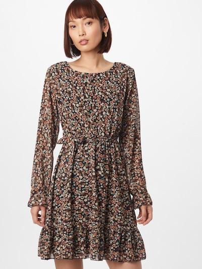 Hailys Kleid 'Gianna' in beige / braun / gelb / hellgrün / schwarz, Modelansicht