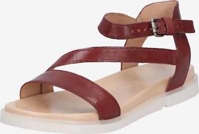 MJUS Sandale 'KETTA' in dunkelrot, Produktansicht
