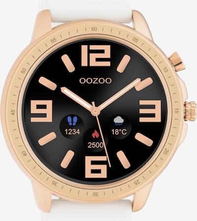 OOZOO Uhr in gold / schwarz / weiß, Produktansicht