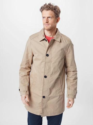Manteau mi-saison TOM TAILOR en beige