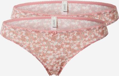 Moteriškos kelnaitės 'DACKOTA' iš ESPRIT , spalva - tamsi smėlio / rožių spalva / balta, Prekių apžvalga