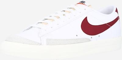 Nike Sportswear Sneaker '77 Vintage' in weinrot / weiß / offwhite, Produktansicht
